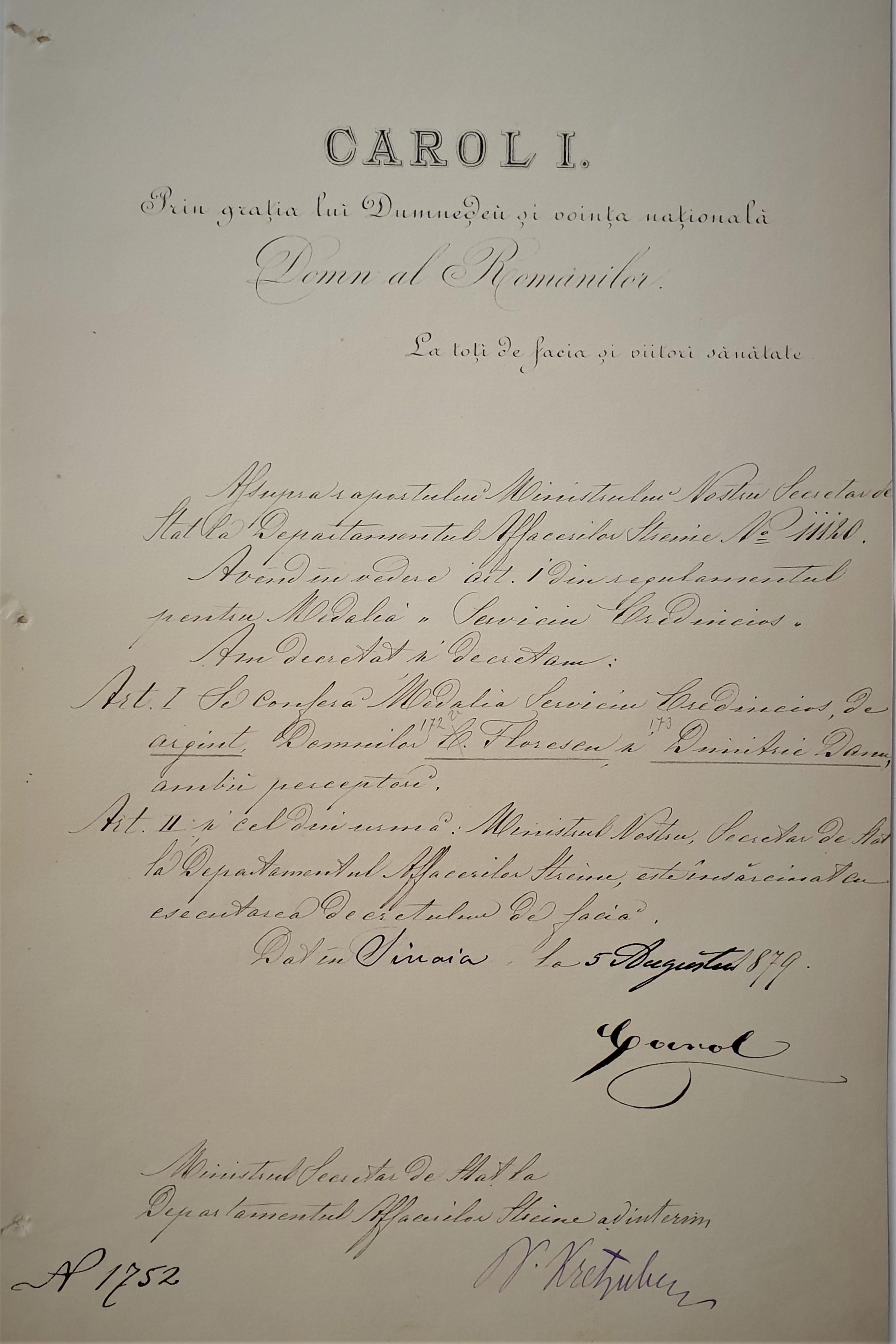 3.Carol I_Nicolae Kretzulescu